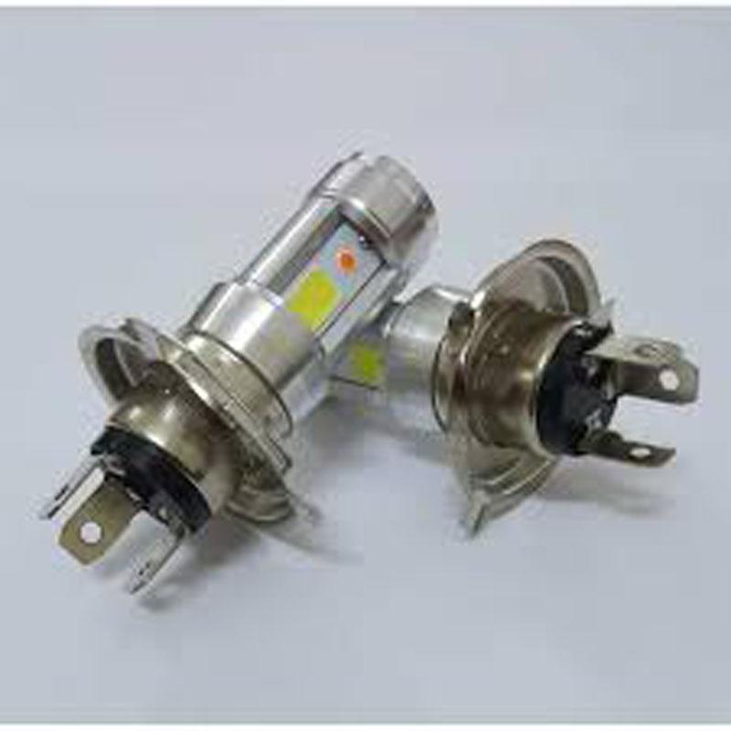 Bán Bóng Đèn Xe Máy ánh sáng trắng, Độ đèn ánh sáng trắng Super LED H4 A9001 ISO 240, den led xe may wave rsx - Độ đèn LED uy tín