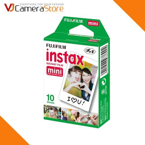 Giá Film cho máy ảnh Fujifilm Instax Mini chính hãng (hộp 10 tấm) - độ bền lên tới 40 năm - Hãng phân phối chính thức