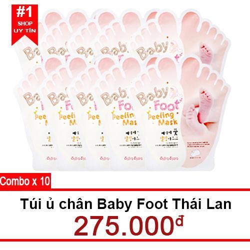 Túi ủ chân Baby Foot thái lan x 10