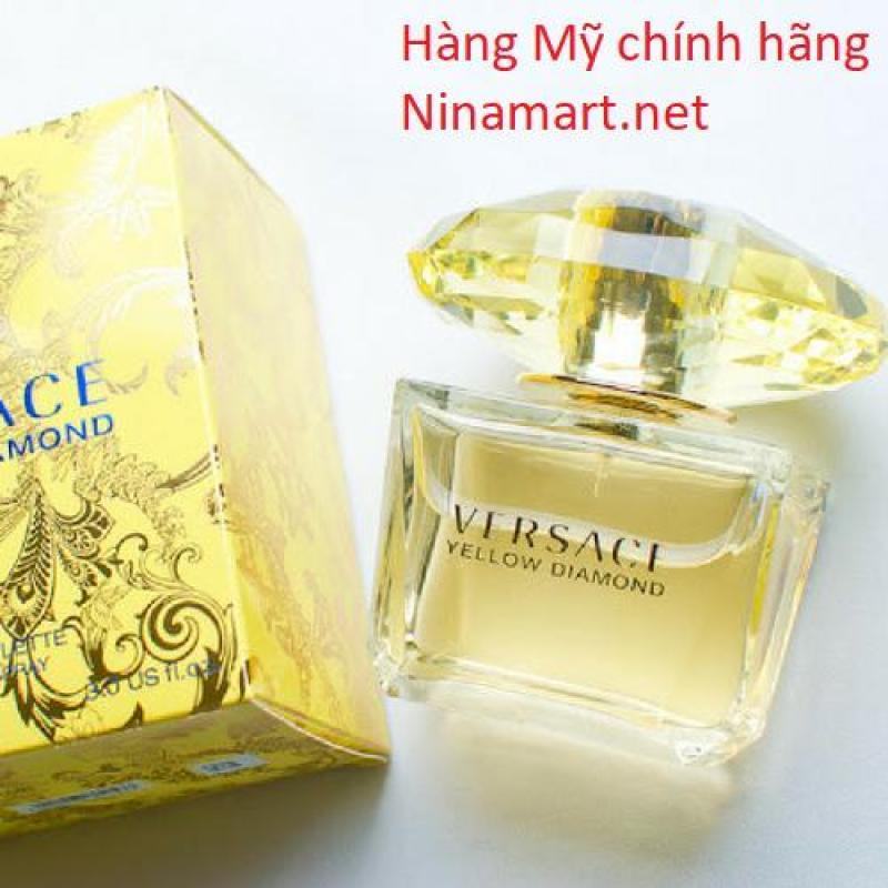 Nước hoa nữ Versace Yellow Diamond EDT 90ML