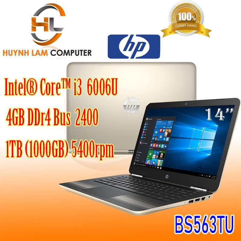 Laptop HP 14-bs563TU i3-6006U/4G/1T GOLD