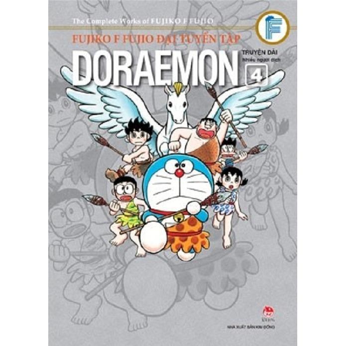 Fujiko F Fujio Đại Tuyển Tập Doraemon Truyện Dai Tập 4 Tt Books Chiết Khấu 30