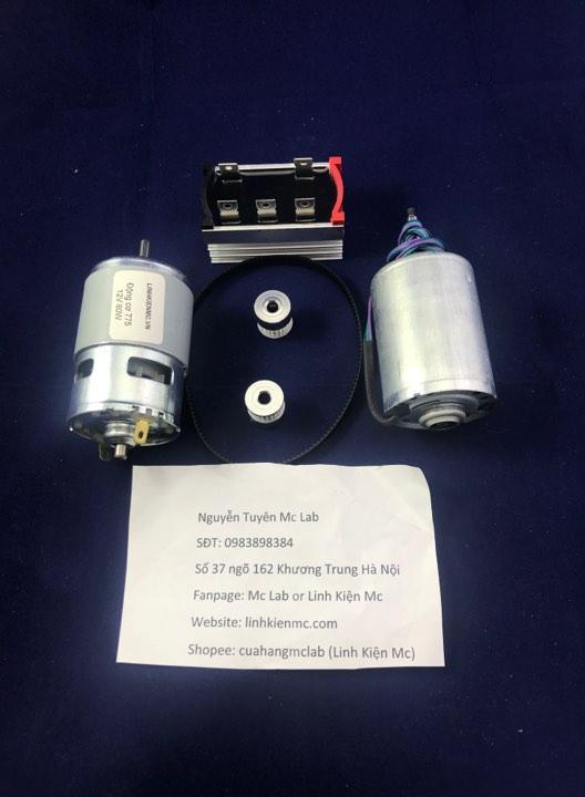 Combo đầy đủ chế máy phát điện mini