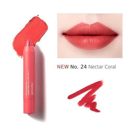 Son But Chi Sieu Li Mamonde Creamy Tint Color Balm Intense 24 Nectar Coral Mới Nhất