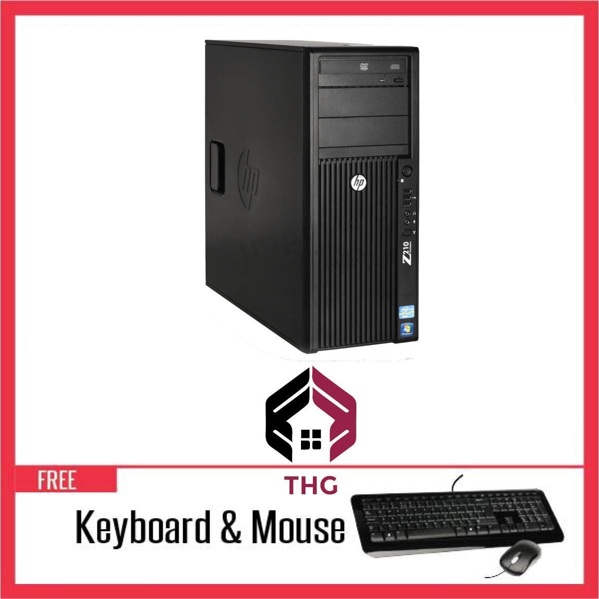 Hình ảnh Thùng Máy WORKSTATION HP Z210MT Chạy CPU Core i7 2600, Ram ECC 8GB, HDD 500GB + Bộ Quà Tặng