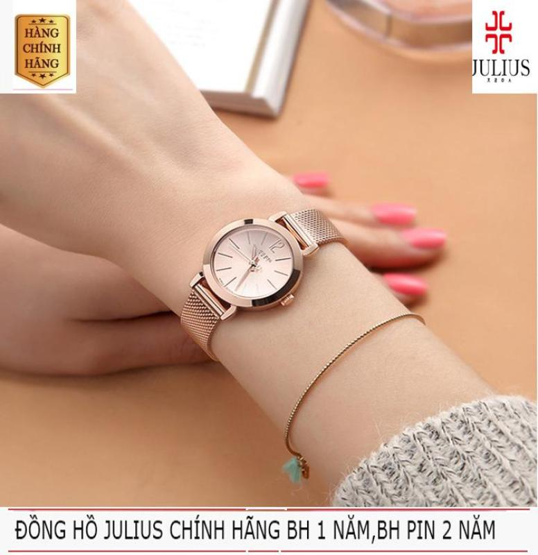 Đồng Hồ Nữ JULIUS JU970 Đồng