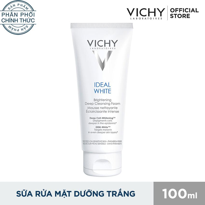 Giá Bán Sữa Rửa Mặt Tạo Bọt Dưỡng Trắng Da Vichy Ideal White Brightening Deep Cleansing Foam 100Ml Rẻ
