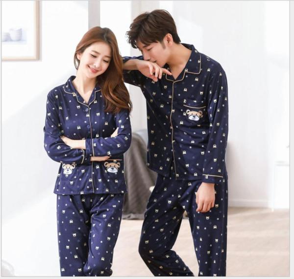 Nơi bán Bộ đồ ngủ pyjama nam 2018 Hàn Quốc cao cấp 109