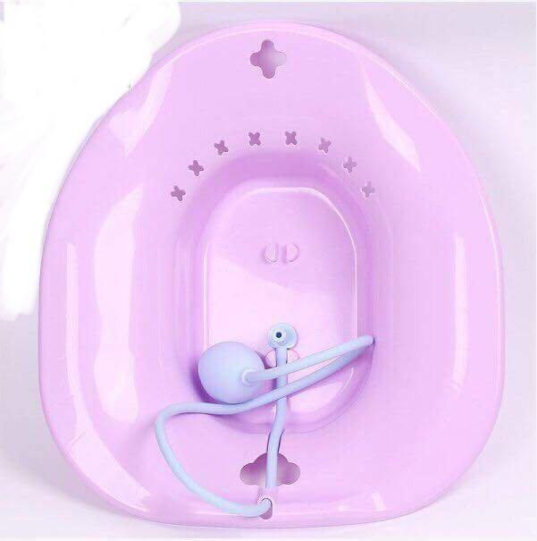 Chậu xông rửa vệ sinh cho phụ nữ sau sinh