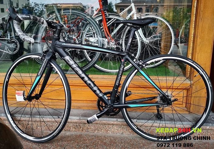 xe đạp đường trường BIANCHI NIRONE 105 nhập khẩu