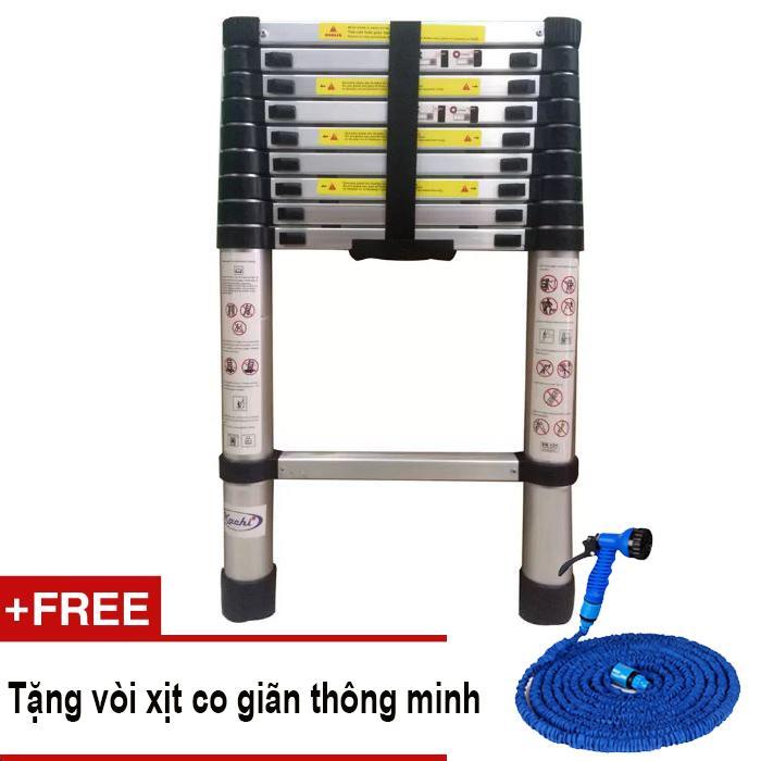 Thang rút Kachi loại 2.9m MK86 + Tặng vòi xịt co giãn thông minh
