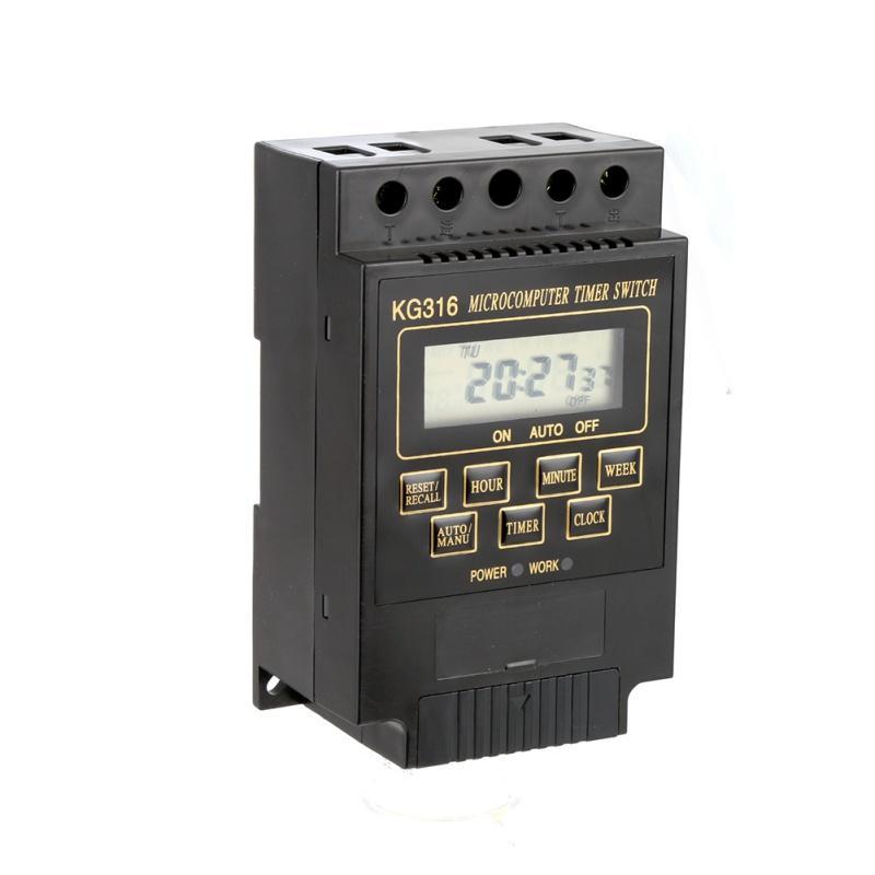 Khuyến Mai Bộ Cong Tắc Hẹn Giờ Tắt Mở Thiết Bị Tự Động Smart Sensor Kg316 Đen Smart Sensor Chiết Khấu 50