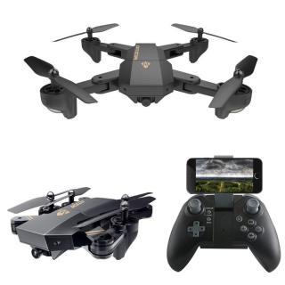 FLYCAM, fly cam mini, fly cam loại tốt - Máy bay cánh gấp bỏ túi điều khiển từ xa, camera HD truyền hình trực tiếp, tích hợp chế độ không đầu đuôi, nhào lộn 360 độ, tự động quay về. thumbnail