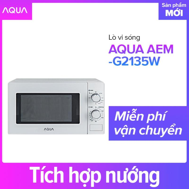 Bảng giá Lò vi sóng AQUA AEM-G2135W - Hàng phân phối chính hãng Điện máy Pico