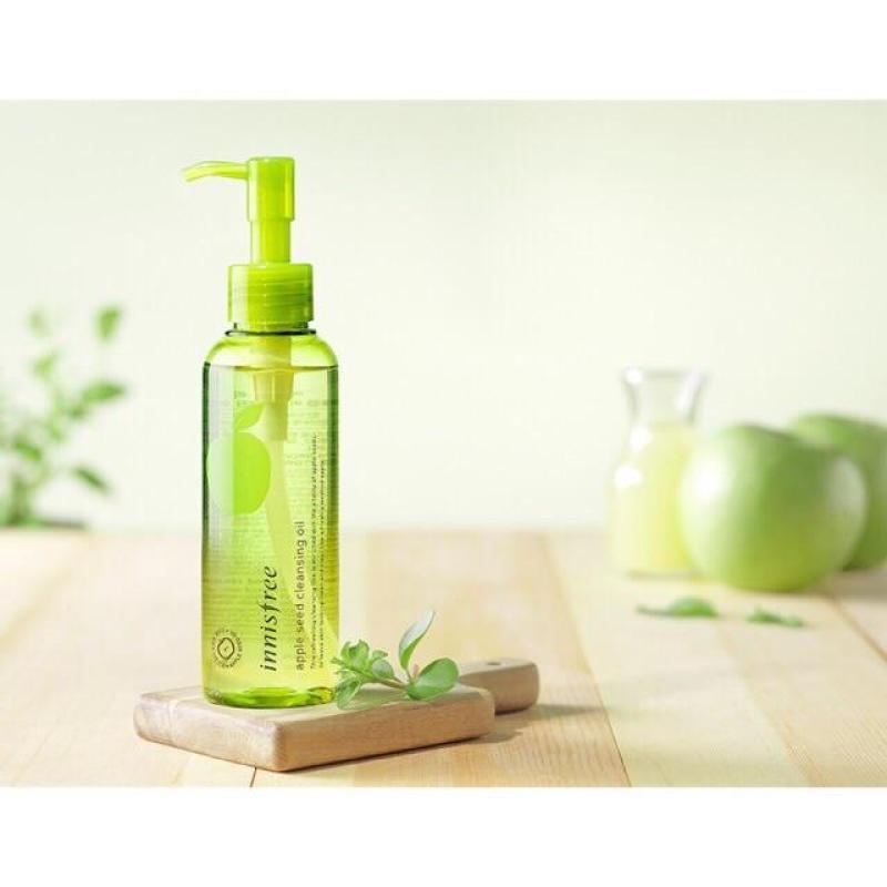 Dầu tẩy trang táo xanh Innisfree Apple Seed Cleansing Oil tốt nhất