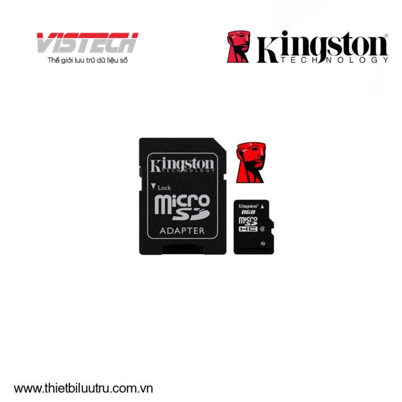 Thẻ nhớ MicroSDHC 8GB kingston Class4