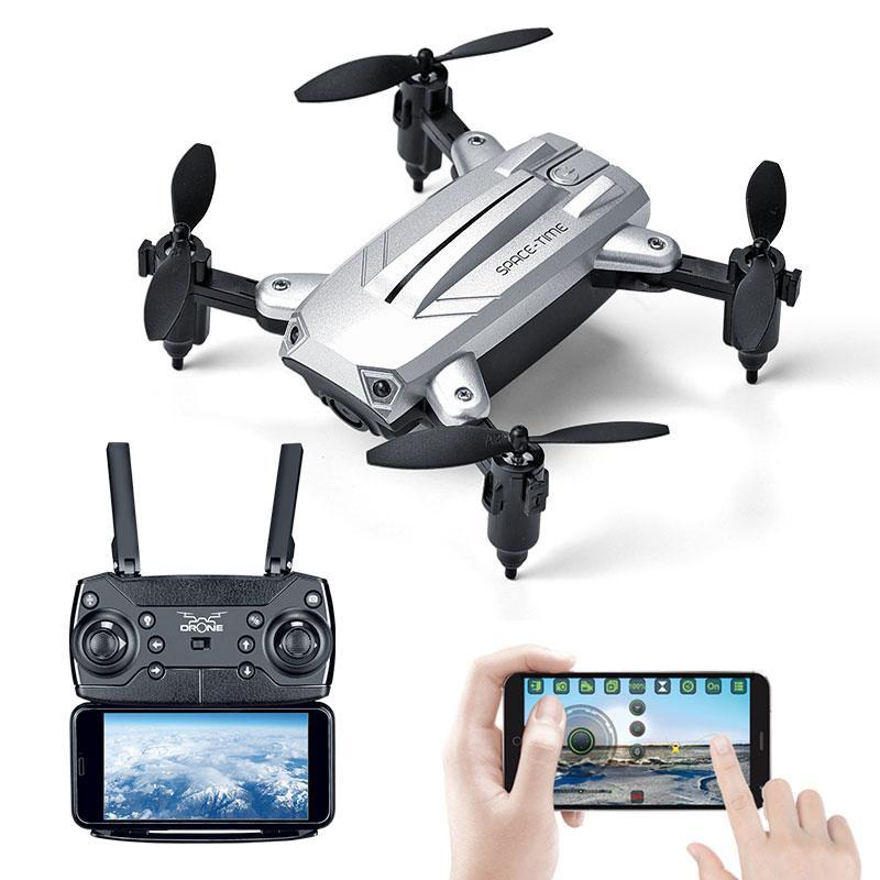 Flycam Mini  KY301 cánh gấp gọn Bay Siêu Tốc – Camera Quay Full Hd 720P , Nhào lộn 360 Độ, Chế độ bay không đầu