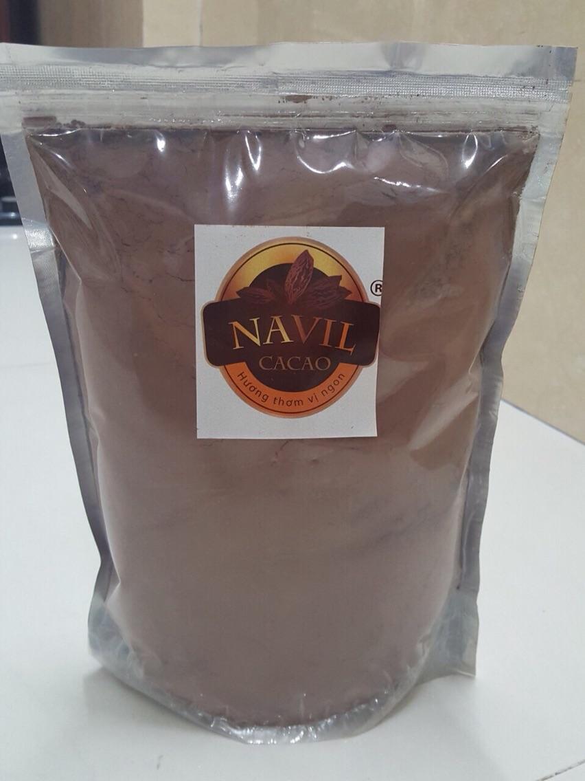 Hình ảnh Bột ca cao nguyên chất nhập khẩu Zip 1kg