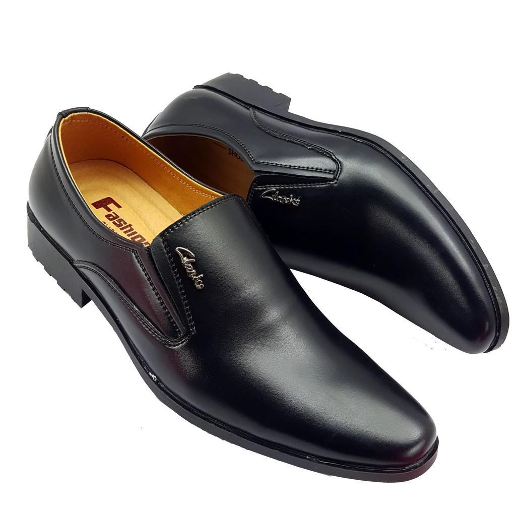 Mã Giảm Giá tại Lazada cho KHO XƯỞNG BUÔN SỈ Giày Nam Công Sở Trơn đen Giá Rẻ.[ Chỉ 3 Ngày ] [ SALE BĂNG ]