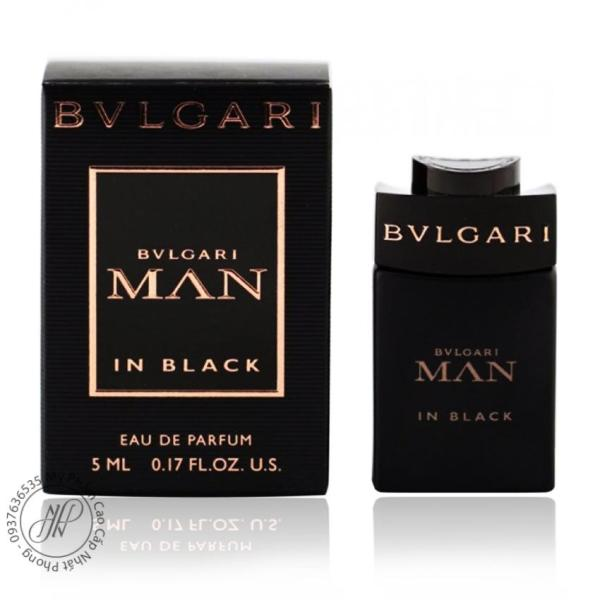 Nước hoa nam Bvl Man in Black EDP 5ml
