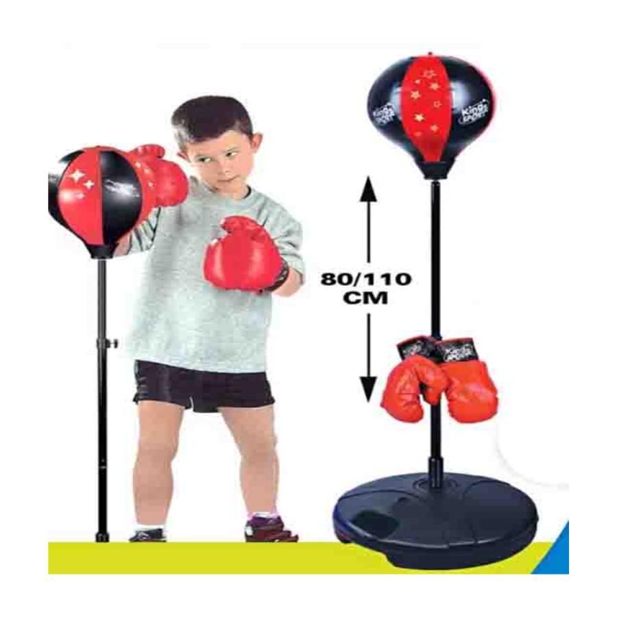 Hình ảnh Bộ đồ chơi đấm bốc Boxing cho bé/đồ chơi đấm bốc cho trẻ em giá rẻ (Đỏ)