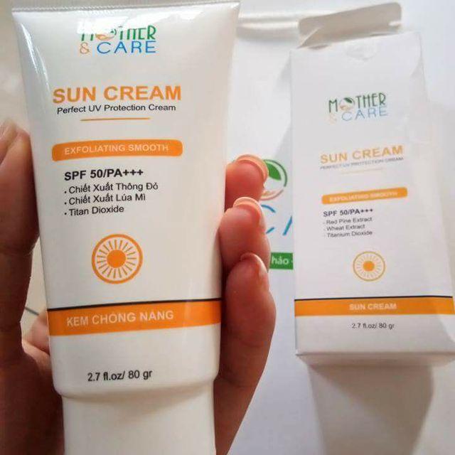 Kem chống nắng SUN CREAM nhập khẩu