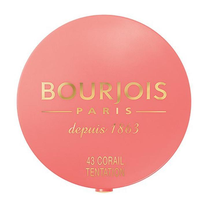 Phấn Má Hồng Bourjois Paris Depuis 1863 #43 Corail Tentation 2.5g tốt nhất