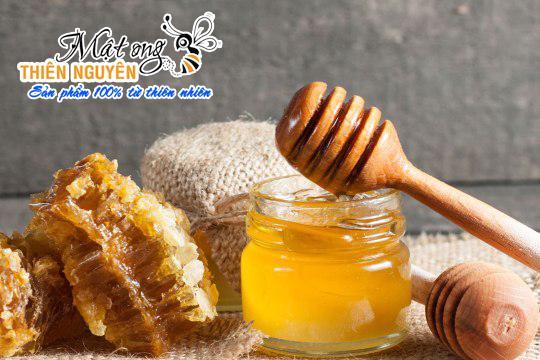 Hình ảnh Mật ong Thiên Nguyên loại cao cấp mạch tổ yến 1.000 ml - Mật ong rừng cafe nguyên chất