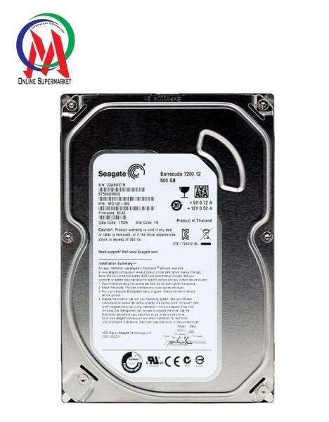 Ổ CỨNG PC 500GB SEAGATE BH 24T tặng cáp sata