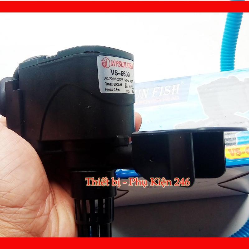 Máy bơm nước VS-6600 hồ cá (Tặng dây máy bơm màu Xanh)
