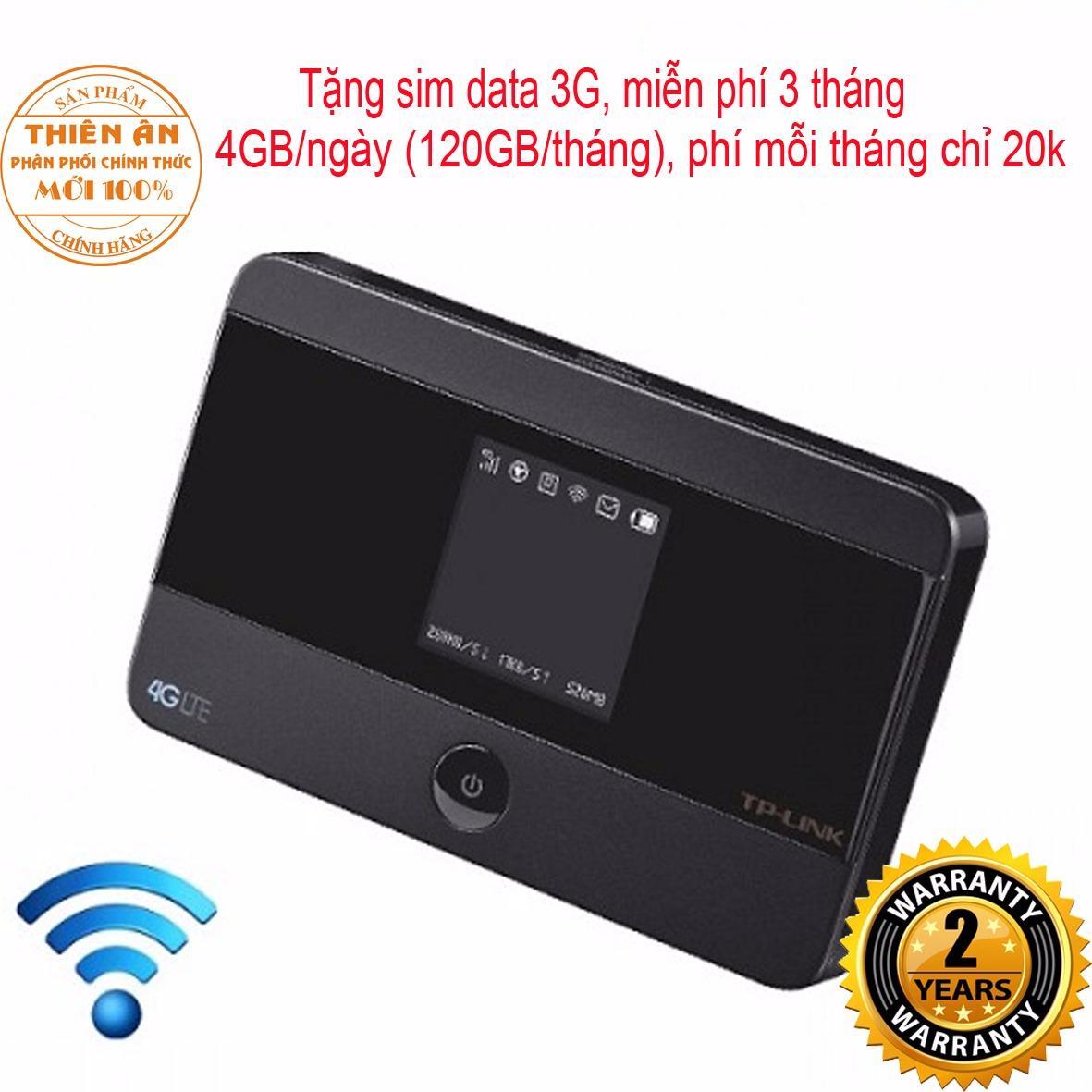 Mua Thiết Bị Phat Wifi Di Động 3G 4G Tp Link M7350 Tặng Sim Data 3G Miễn Phi 3 Thang Rẻ Vietnam