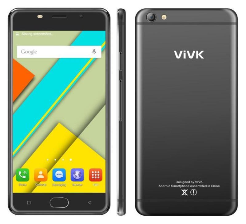[ Chơi Game Free Fire ] Điện Thoại VIVK R9S Nguyên Khối RAM 1GB ROM 8GB - Tặng Ốp Lưng