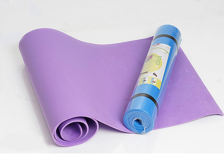 Hình ảnh thảm tập yoga cao cấp + 2 dây cột thảm