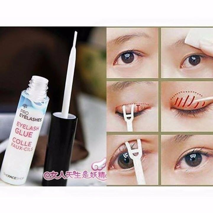 [The Face Shop] Gel kích mí Pro Eyelashes Eyelash Glue tốt nhất