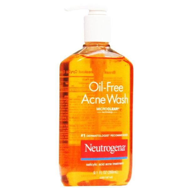 Sữa Rửa Mặt Trị Mụn Neutrogena Oil-Free Acne Wash Facial Cleanser 177mL