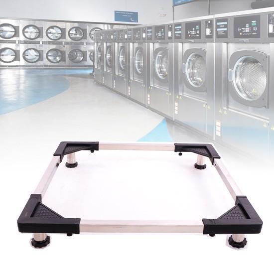 Đế chân để Máy Giặt, Tủ Lạnh INOX tiện dụng 2IN1