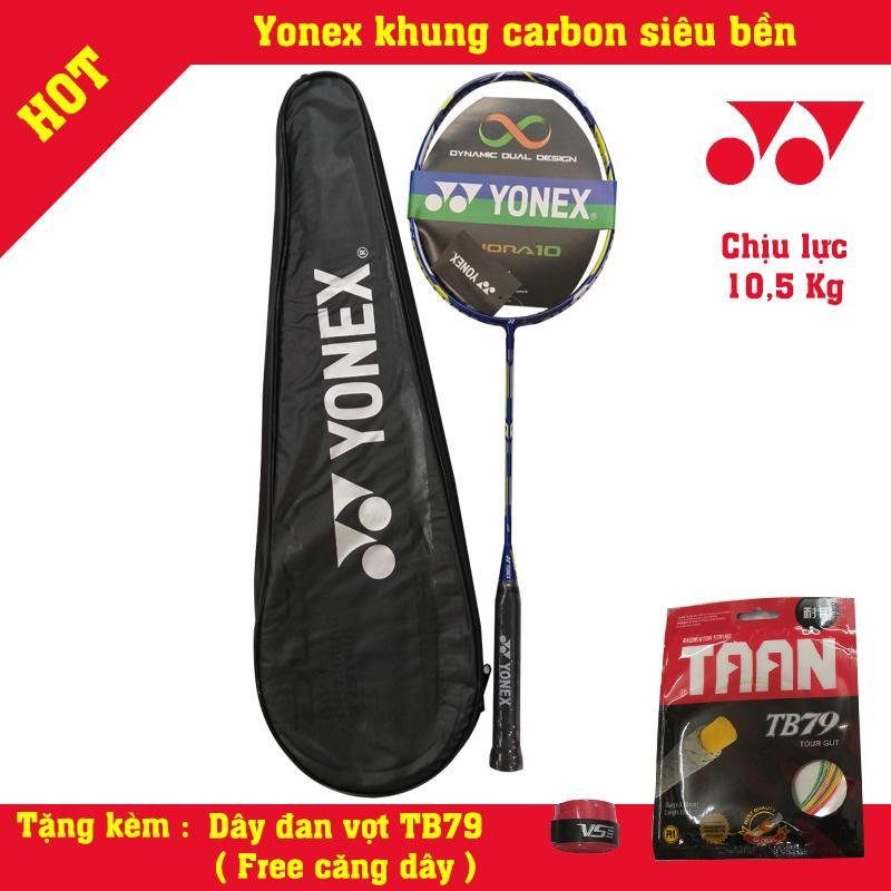 vợt cầu lông Yonex 100% cacbon siêu bền - tặng cước và cuốn cán free căng -hot hot hot Nhật Bản