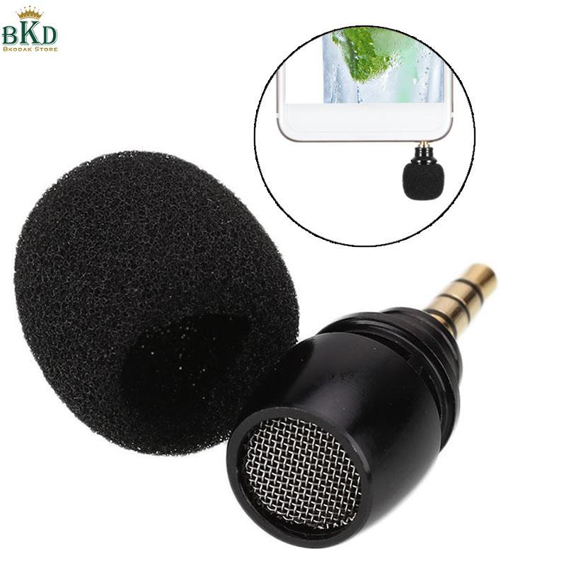 Mini 3.5mm Jack Voice Mic Omni-Directional Microphone For Recorder Mobile Phone By Bokeda Store.