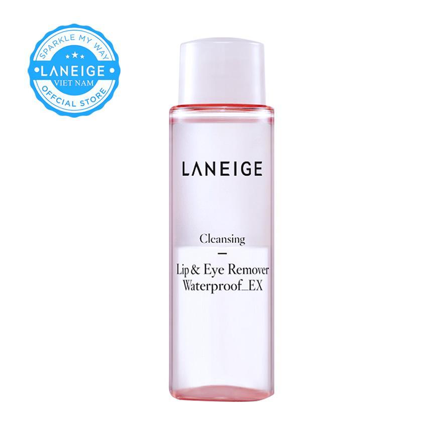 Nước tẩy trang vùng mắt và môi Laneige phiên bản Miniature Lip & Eye Remover Waterproof_Ex 50ml