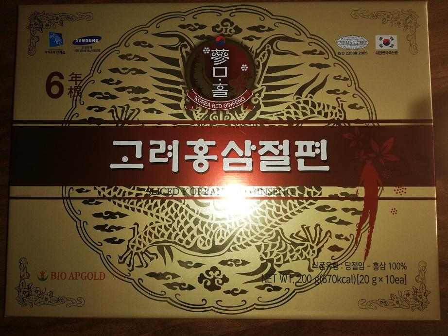 Hồng sâm lát Bio Apgold - Hàn Quốc