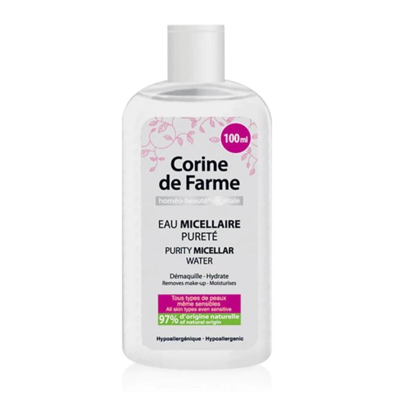 Nước tẩy trang dịu nhẹ - Purity Micellar Water 100ml - Corine de Farme