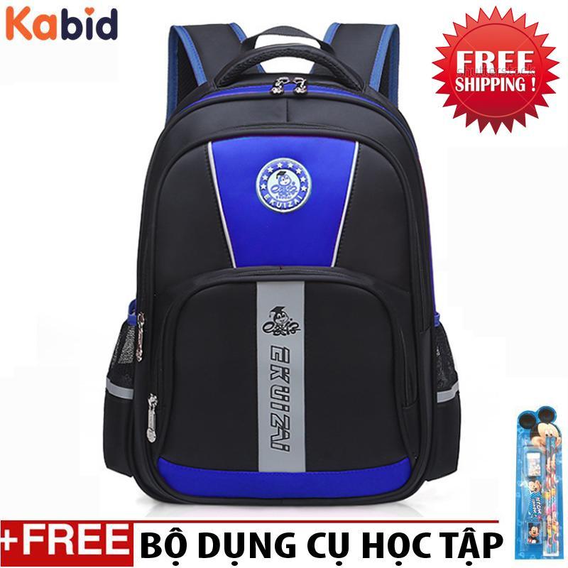 Giá bán Balo chống gù lưng cho bé trai lớp 1-3  EKUIZAI -KINGDOM Tặng bộ dụng cụ học tập