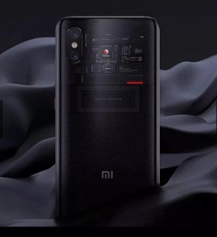 Điện thoại Xiaomi Mi 8 Pro 128GB Ram 8GB Explorer Edition (Mặt lưng trong suốt) - Hàng nhập khẩu