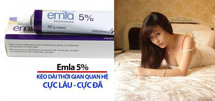 Kem chống xuất tinh sớm, kéo dài thời gian quan hệ Emla 5%