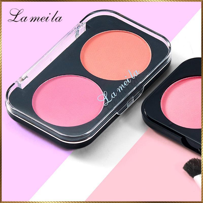 [Lấy mã giảm thêm 30%] Phấn má hồng hộp 2 ô màu Lameila MHL21 giá rẻ