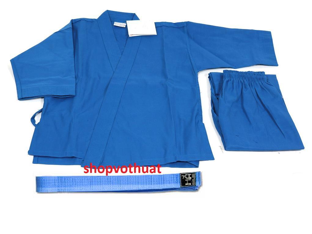 Hình ảnh Võ phục quần áo Vovinam phong trào đủ size từ 90cm đến 1m79