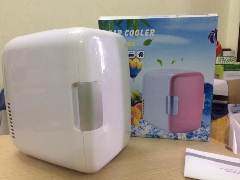 Tủ lạnh mini VegaVN - 4Lít hộ gia đình và xe hơi (Nhiều màu)