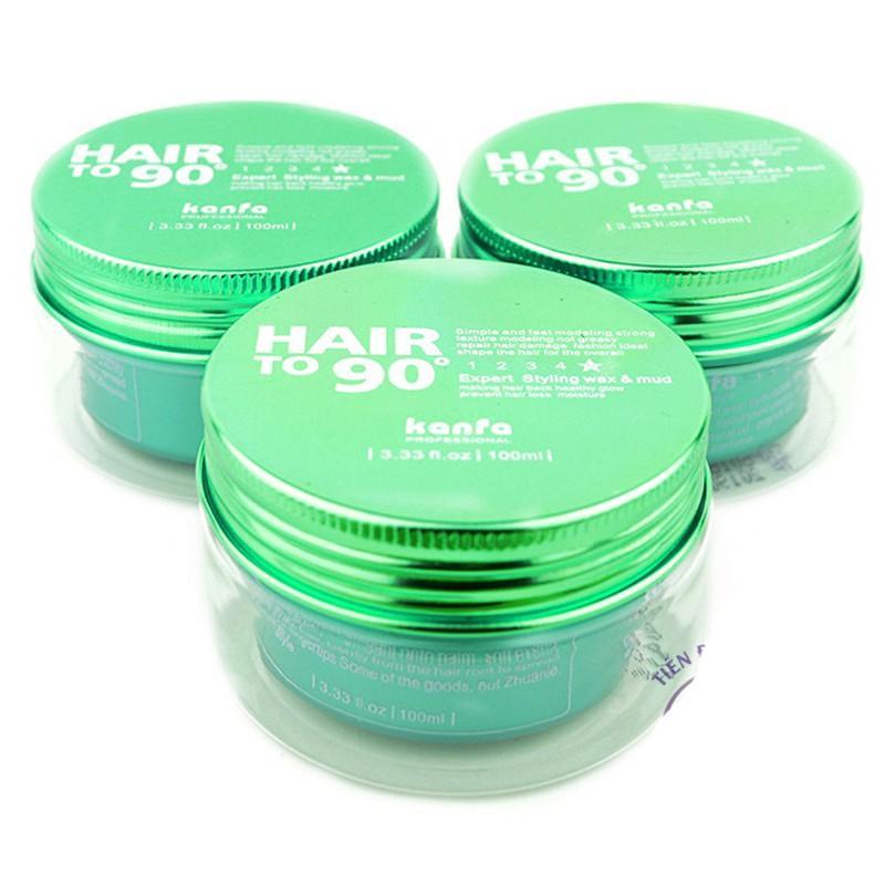 Sáp vuốt tóc Kanfa Hair to 90 (Màu xanh lá) - nhập khẩu chính hãng 100% tốt nhất