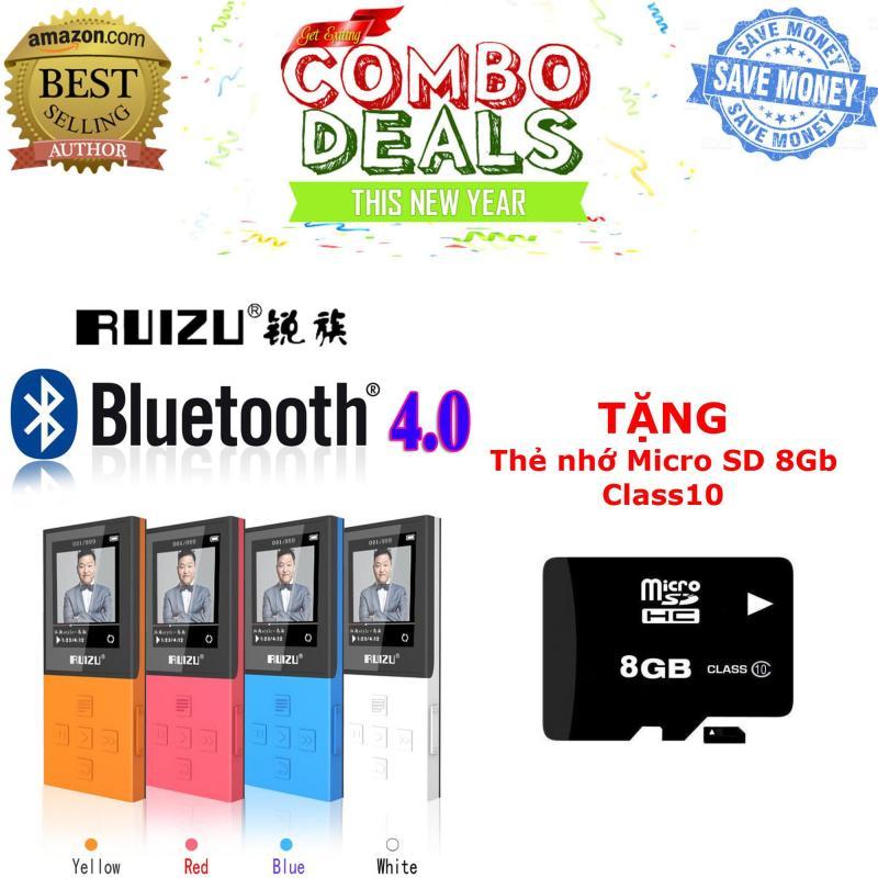 Máy nghe nhạc bluetooth lossless Ruizu X18 [Công ty phân phối] + TẶNG kèm thẻ nhớ micro SD 8Gb Class 10