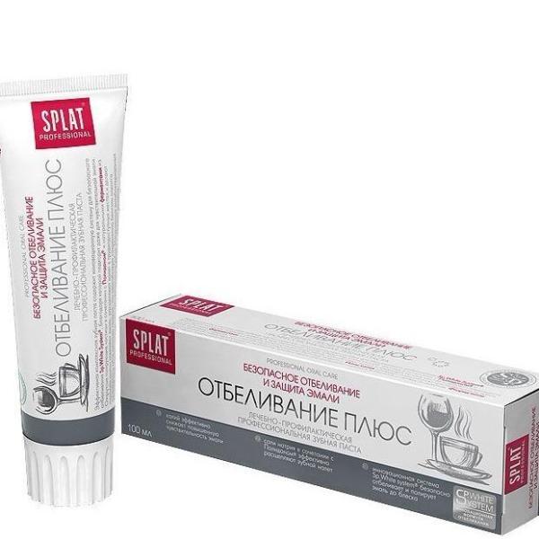 Kem đánh răng SPLAT White Plus làm trắng răng 100ml giá rẻ